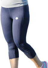 Peach Bum 'Anita Bum' Compression Capri