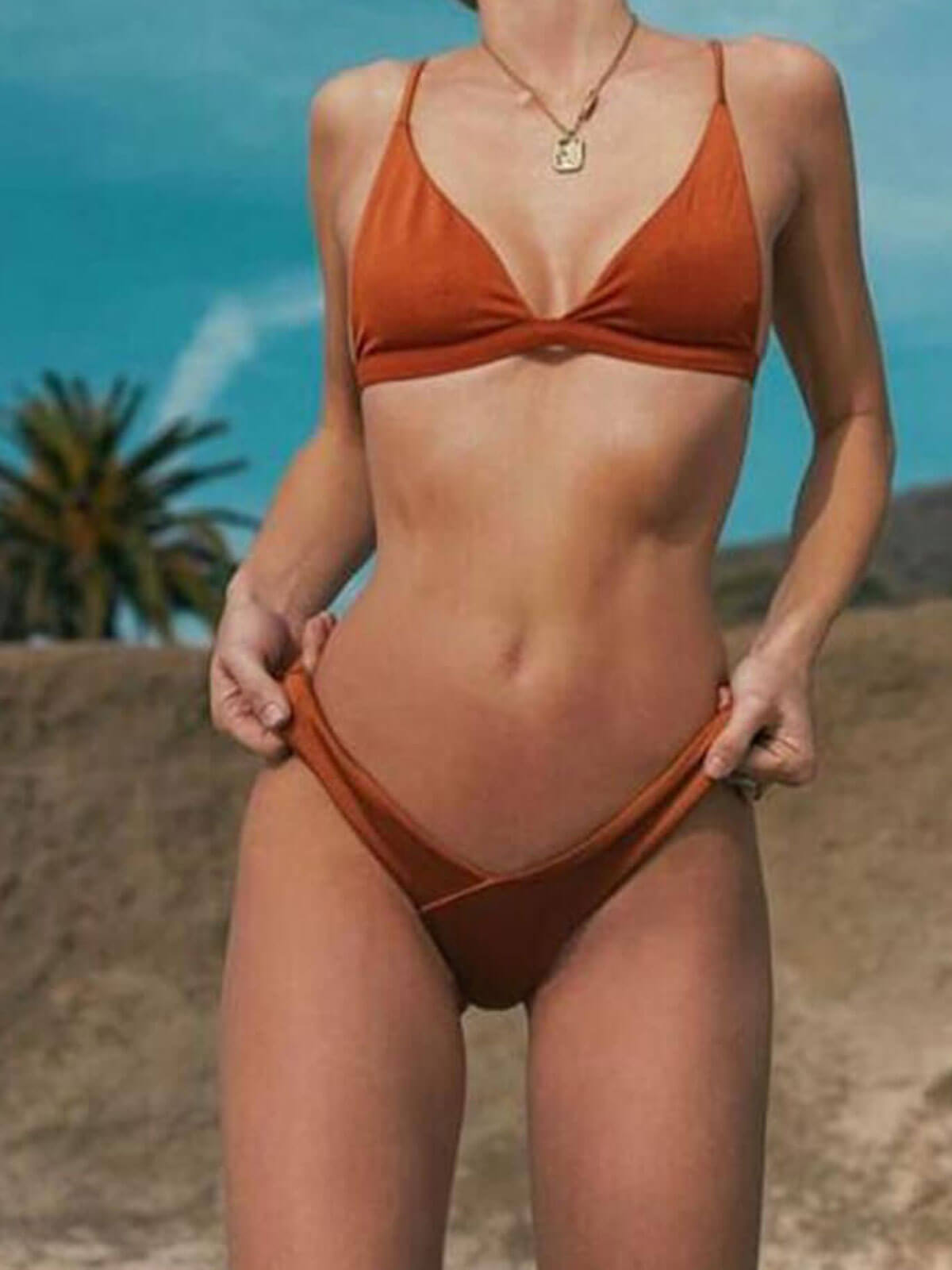 Sexy Swimsuit Push Up Bikini Set