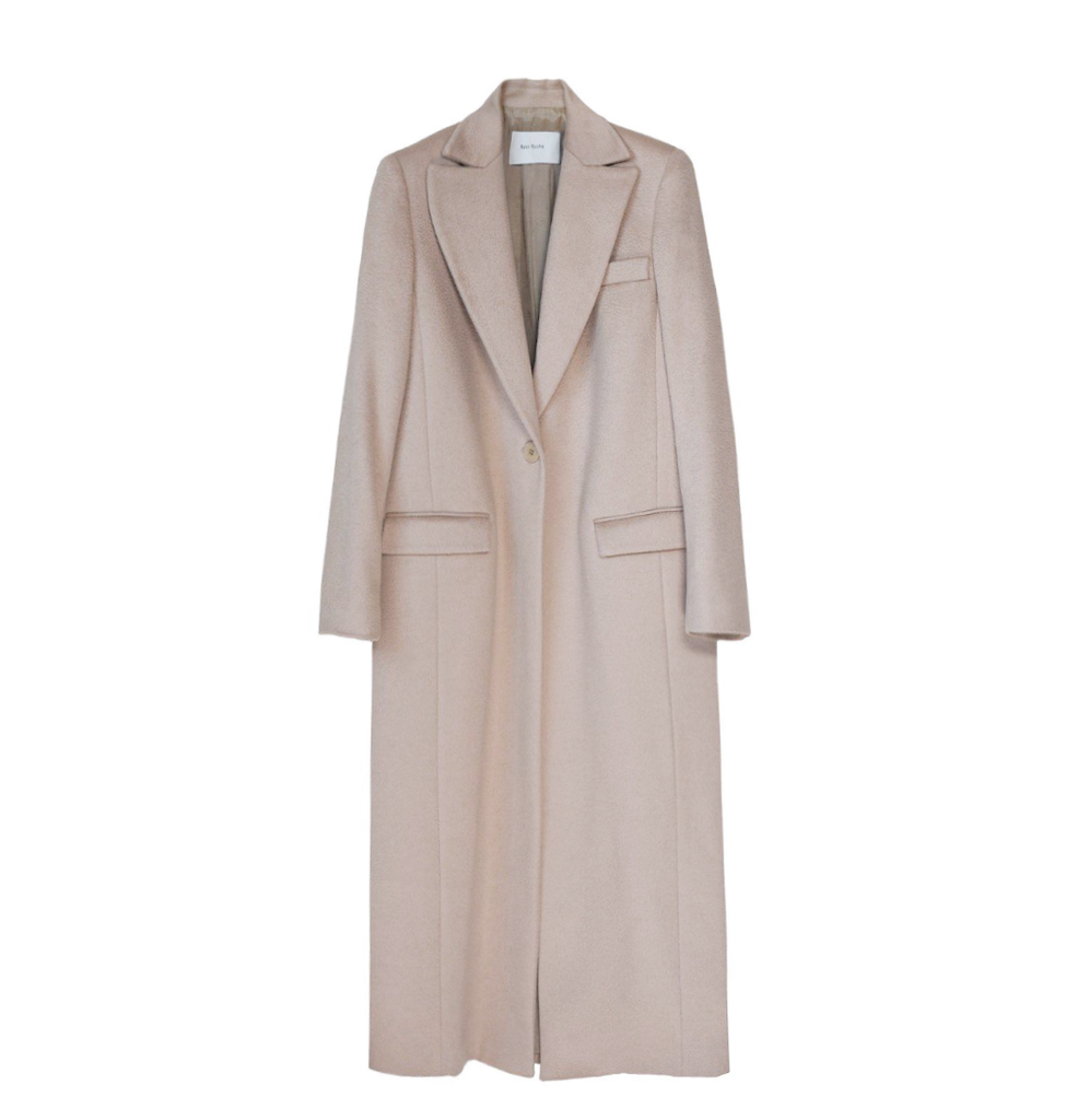 Classic cashmere tailored coat