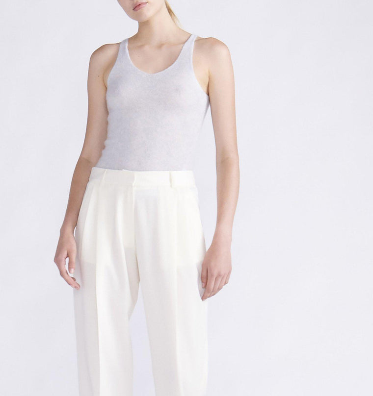 CASHMERE SILK TANK TOP