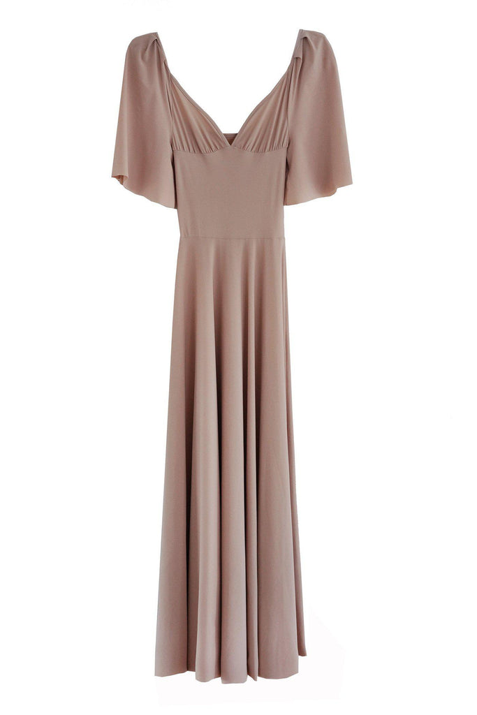 RYAN ROCHE Delicate puff sleeve ballet dress