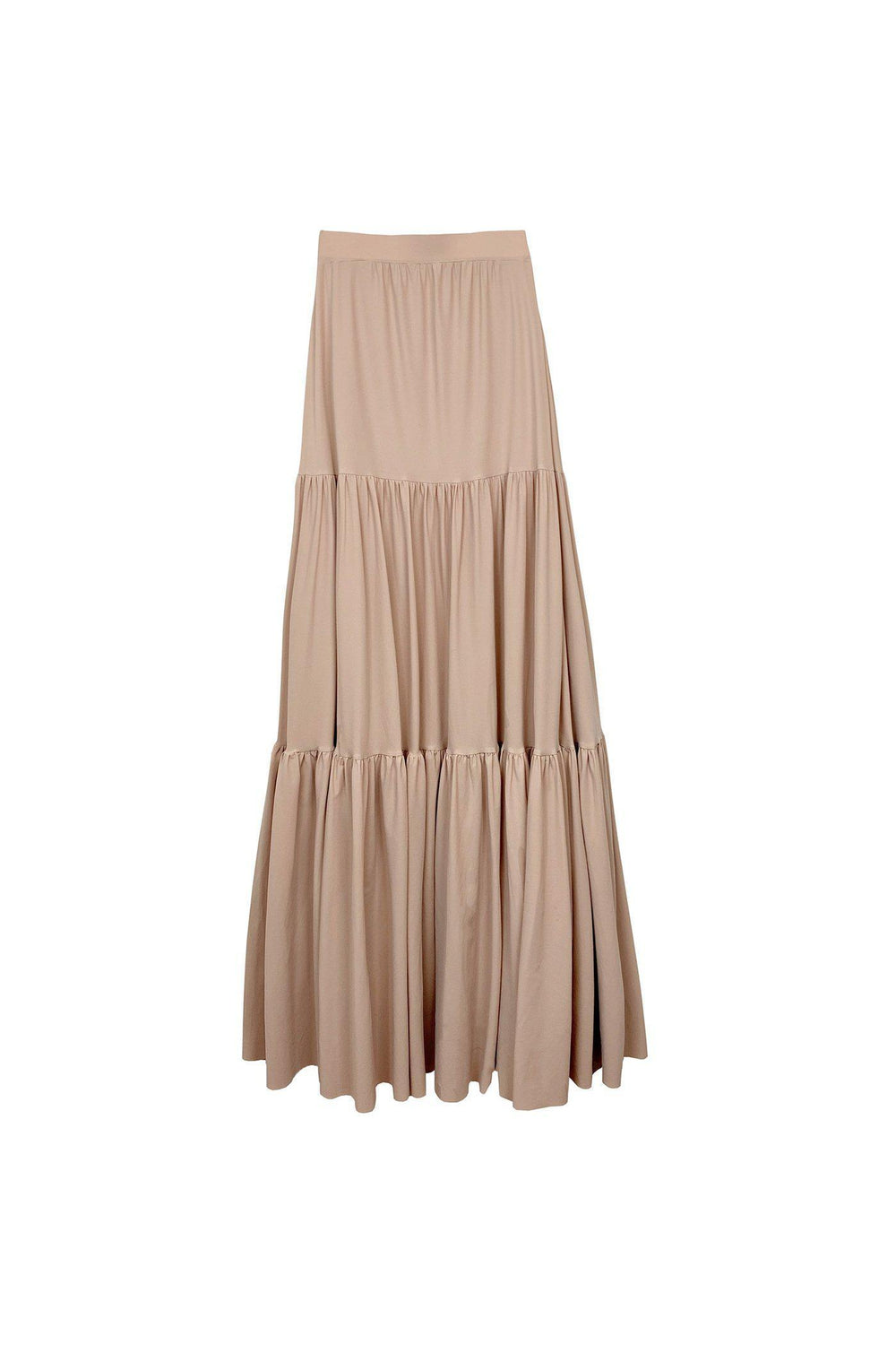 RYAN ROCHE Prairie stretch ruffle skirt