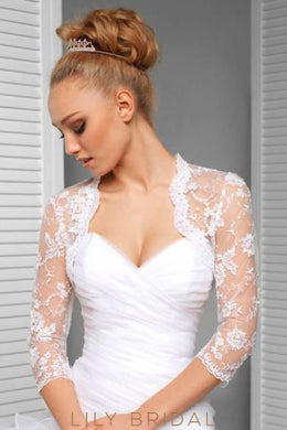 Embroidery Bridal Jacket