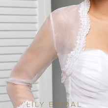 Illusion Tulle Bridal Jacket