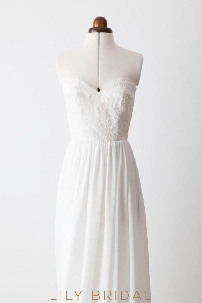 wedding dress with empire waist