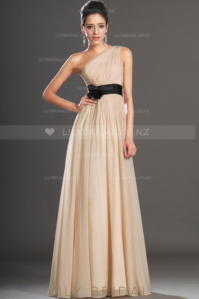 champagne-one-shoulder-beaded-a-line-chiffon-evening-dress-with-corsage