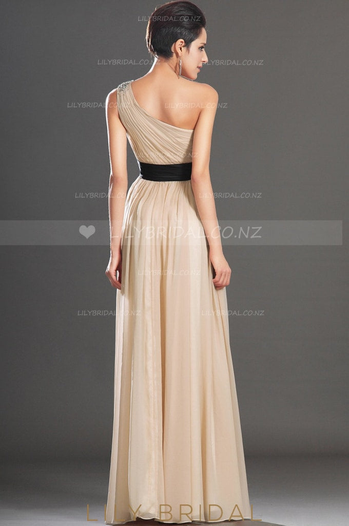champagne-one-shoulder-beaded-a-line-floor-length-evening-dress-with-corsage