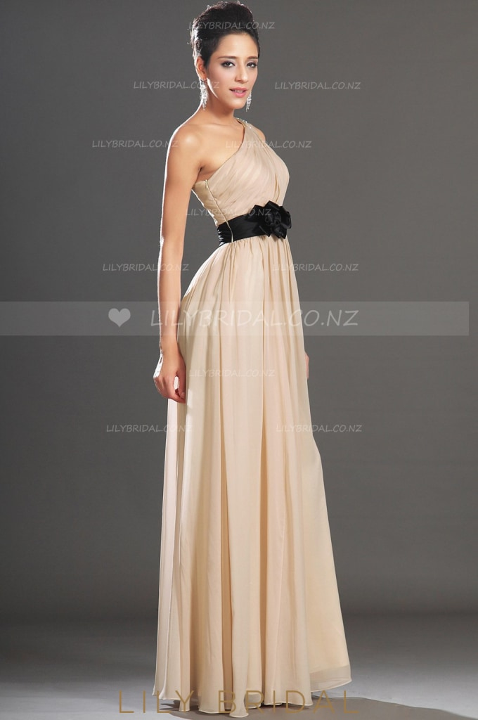 champagne-one-shoulder-beaded-floor-length-chiffon-evening-dress-with-corsage