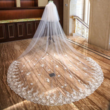 double layer weeding veil