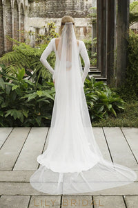 cut edge chapel veil