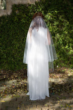 ribbon edge weeding veil