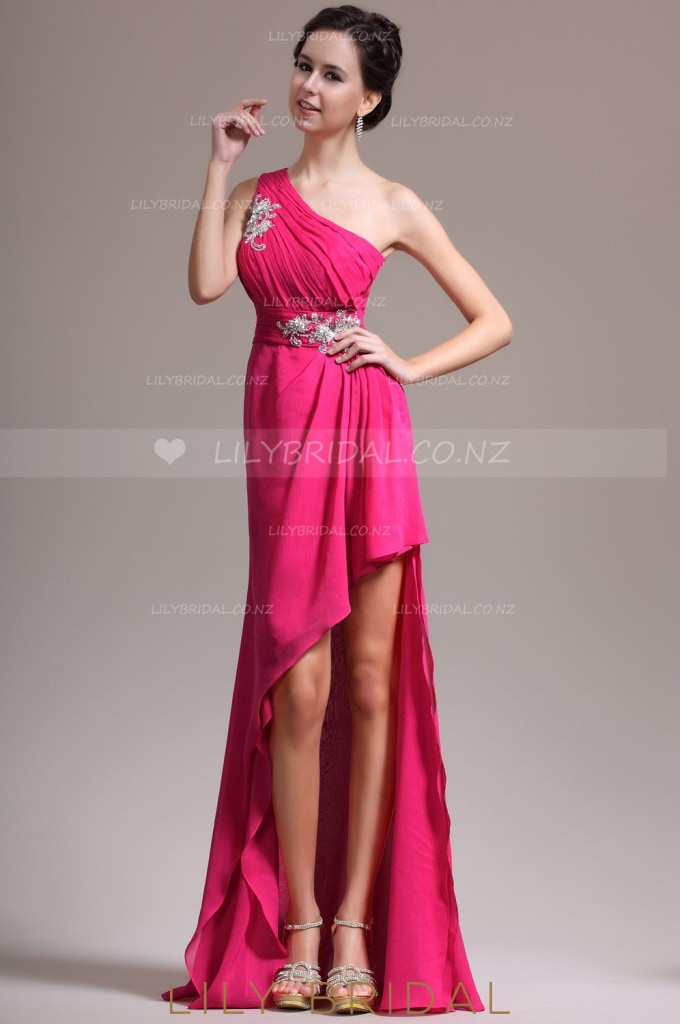 one-shoulder-high-low-chiffon-evening-dress-with-exquisite-applique