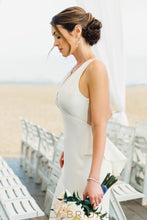Sweep Train Mermaid Wedding Dress