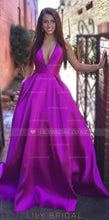 Princess Low V-Neck Sweep Train Charmeuse Evening Dress With Criss-Cross Back