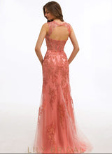 Sheath Satin Sweetheart Sleeveless Sweep Train Prom Dress
