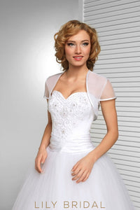 Short Sleeve Weeding Bolero Bridal Cape