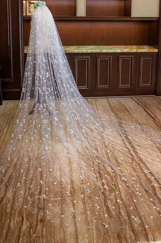 cathedral weeding veil