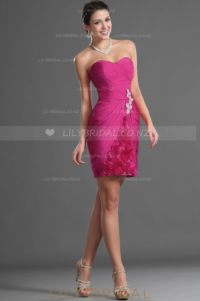 sweetheart-strapless-chiffon-cocktail-dress-with-beads