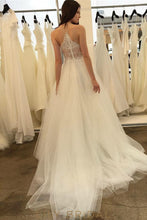 Tulle Lace A-line Sweetheart Wedding Dress Lace Illusion Back Zip Style at Back