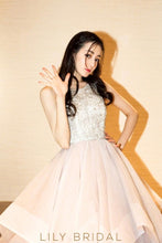 dazzling sleeveless ball gown