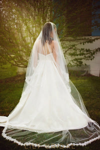 Two Layer Chapel Length Veil