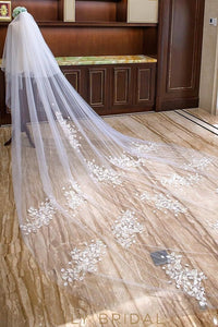 unique weeding veil