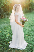 two layer weeding veil