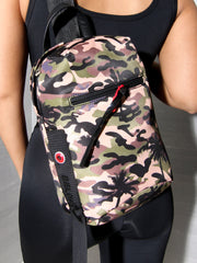 CROSS BODY ONE SHOULDER BAG PALM CAMO