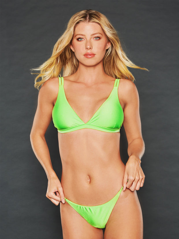 DENISE NEON LIME TOP