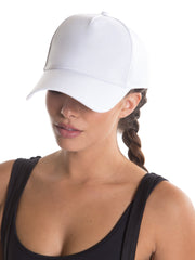 PATCH HAT WHITE
