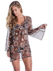 SANREMO COVER UP CIRCLE PRINT