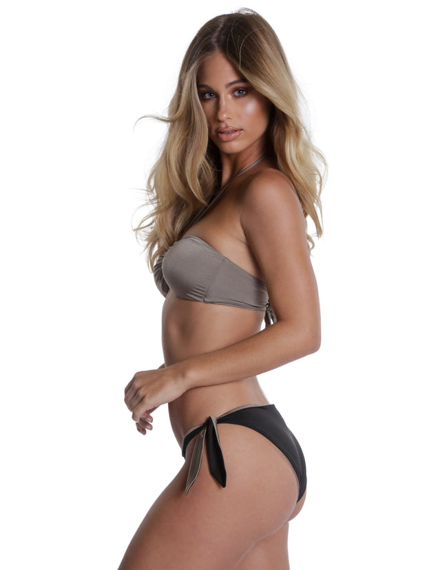 ITALIA BOTTOM TAUPE/BLACK