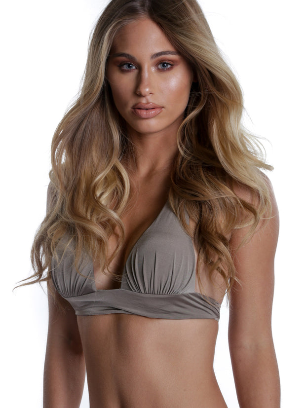 ST TROPEZ TOP TAUPE