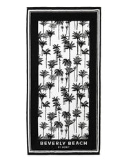 PALM PRINT BEACH TOWEL