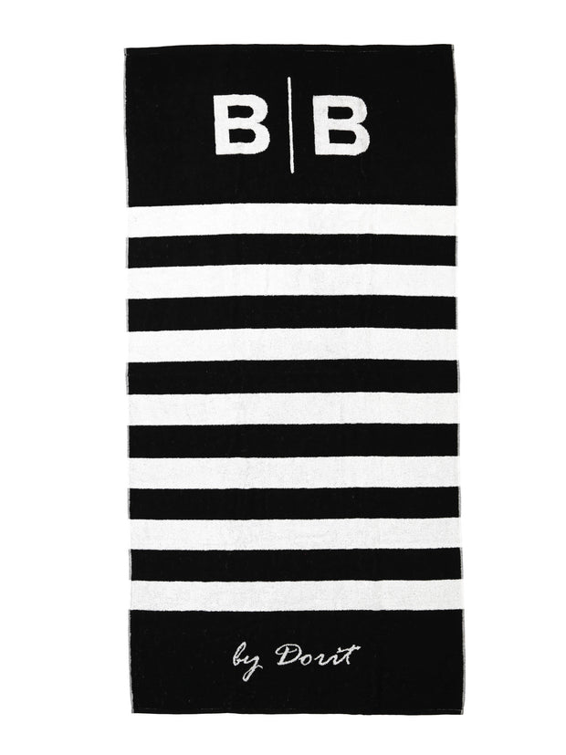 SIGNATURE STRIPE BEACH TOWEL