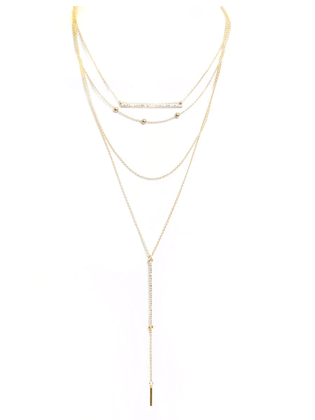 LAYERED BARS NECKLACE