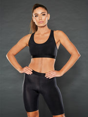 SHADOW OPEN BACK SPORTS BRA
