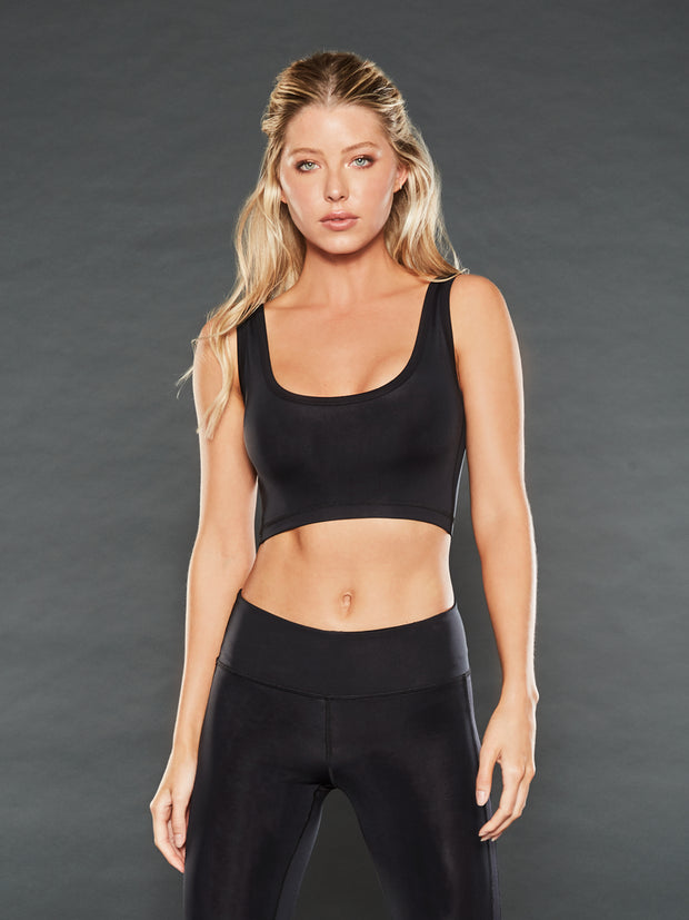 SHADOW ATHLETIC CROP TOP