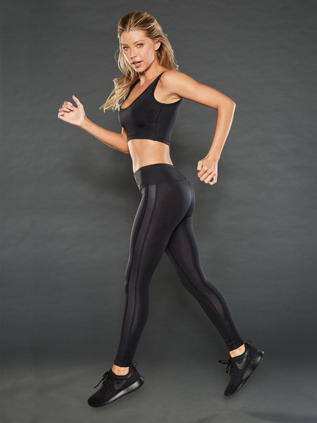 SHADOW MID RISE MESH LEGGING