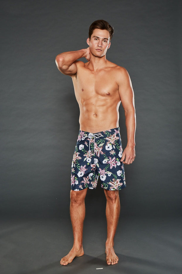 GEORGE FIXED WAISTBAND FLORAL SHORTS