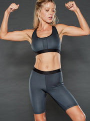 IRON OPEN BACK SPORTS BRA