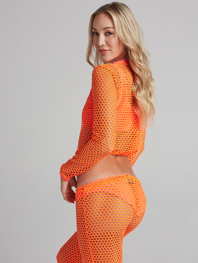 CAMILLE NEON ORANGE BOTTOM
