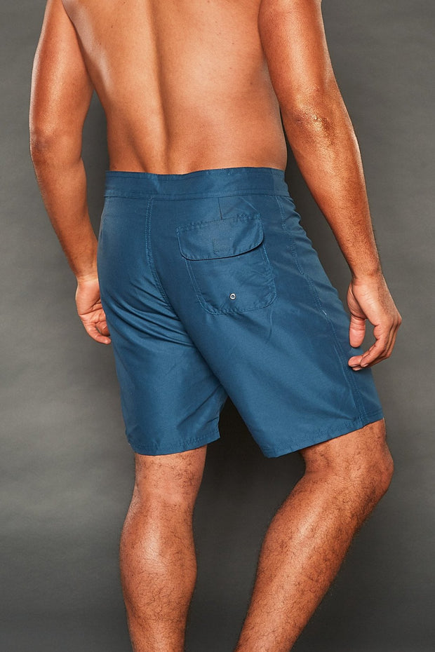 GEORGE FIXED WAISTBAND NAVY SHORTS