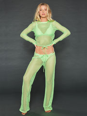 CAMILLE NEON LIME BOTTOM
