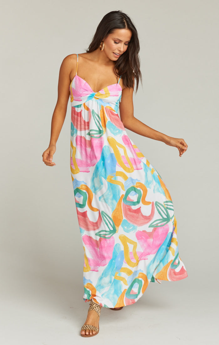 Magnolia Maxi Dress - Multi Floral