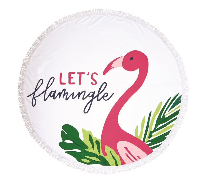 Tropic Circle Towel - Lets Flamingle