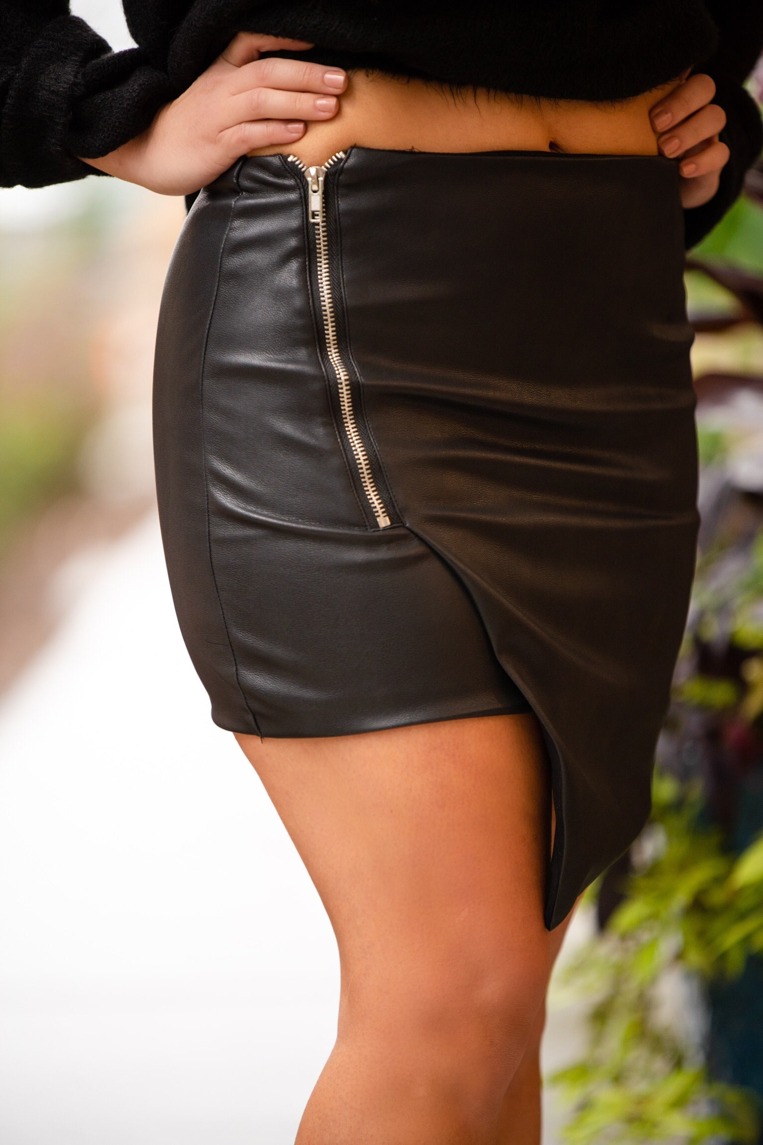College Ave Mini Skirt