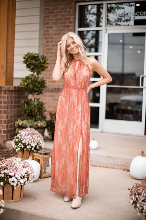 Pinyon Lace Maxi Dress