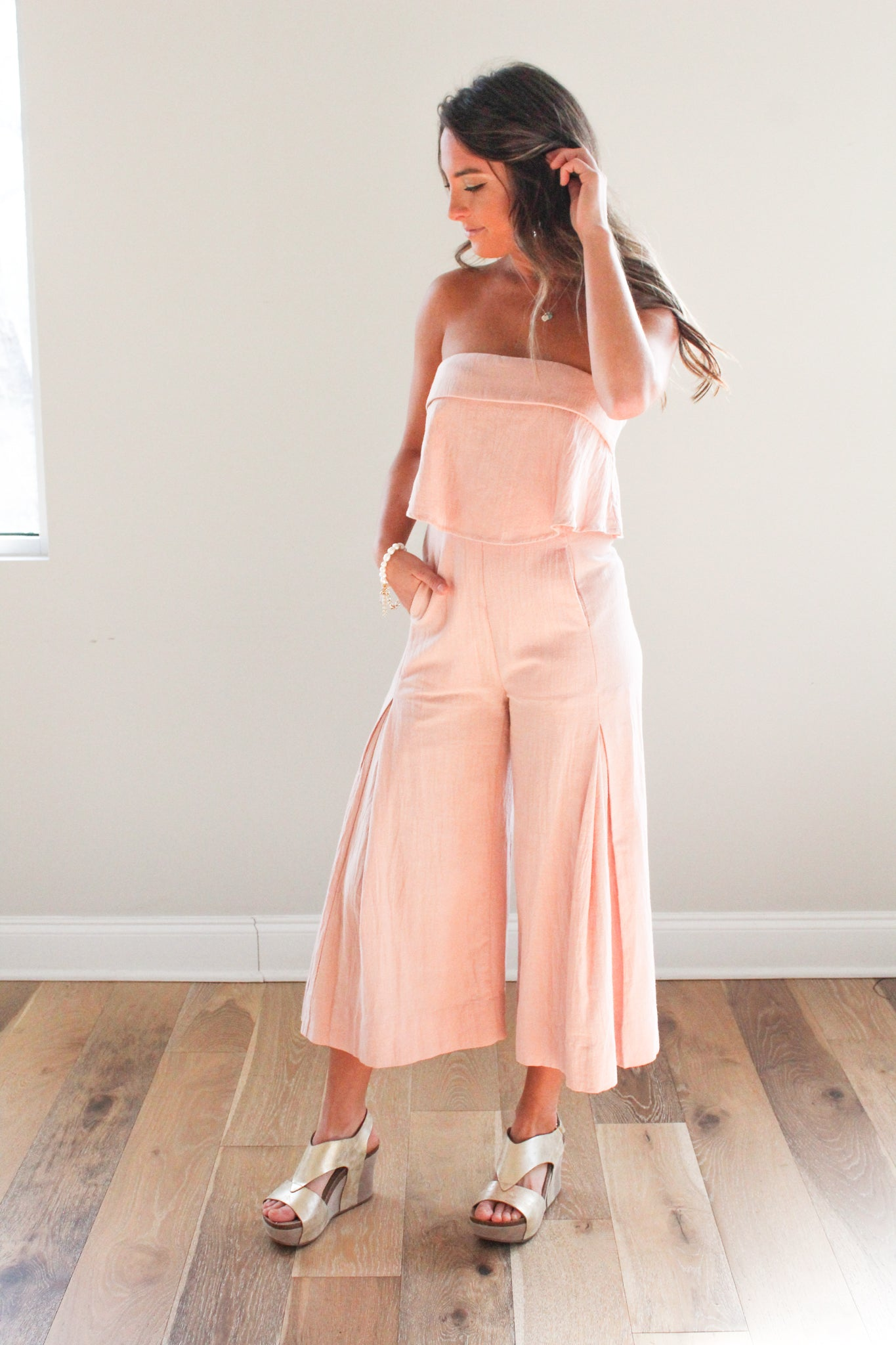 Makin' Me Blush Jumpsuit