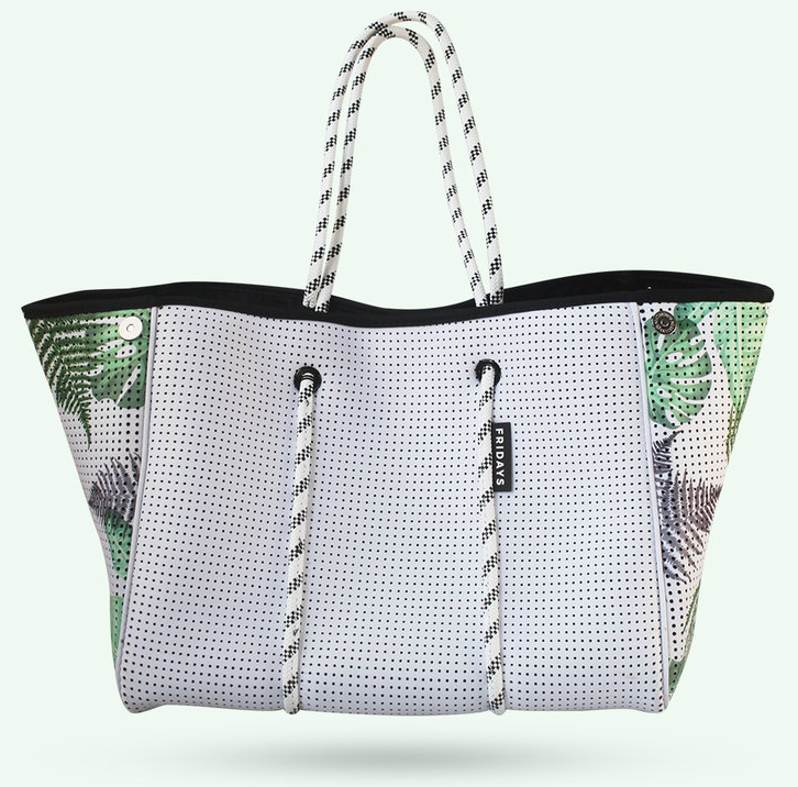 Fridays the Lable Neoprene Tote